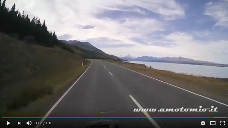 Nuova Zelanda - On The Road sul Lago Pukaki verso Mt.Cook