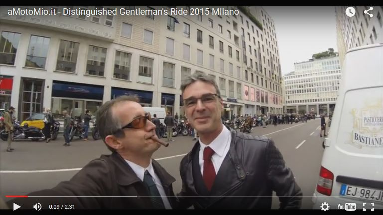 Distinguished Gentleman's Ride 2015 MIlano