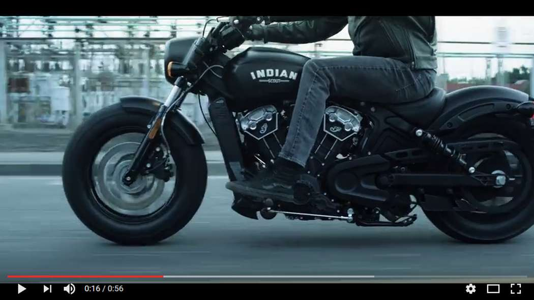 Introducing Indian Scout Bobber - Indian Motorcycle