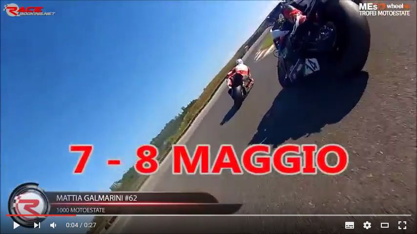 VIDEO: Trofeo Moto Estate 2016