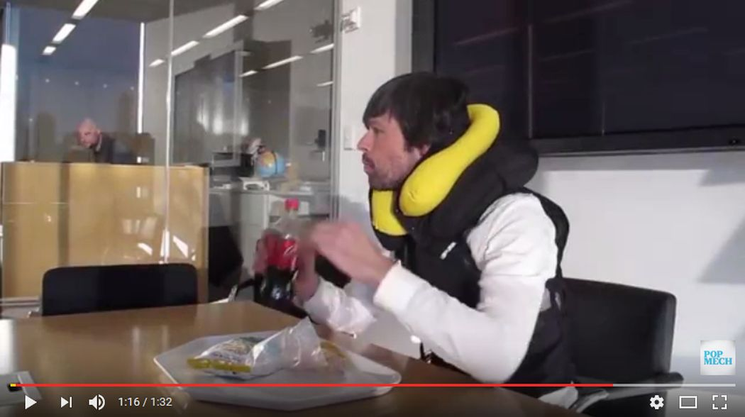 Spidi Try an Inflatable Motorcycle Vest in the Office