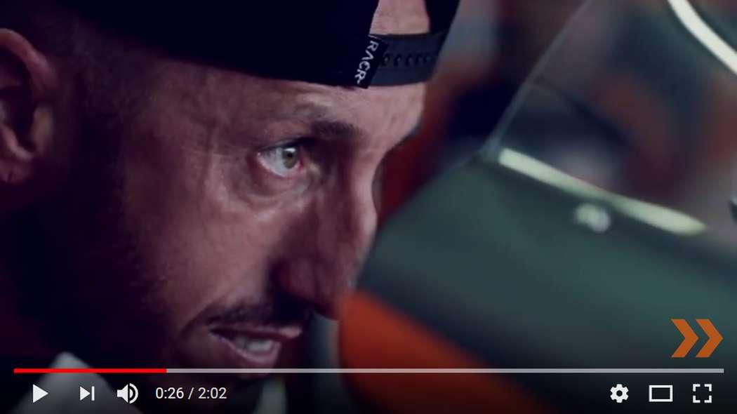 Tony Cairoli prova la KTM MotoGP a Valencia