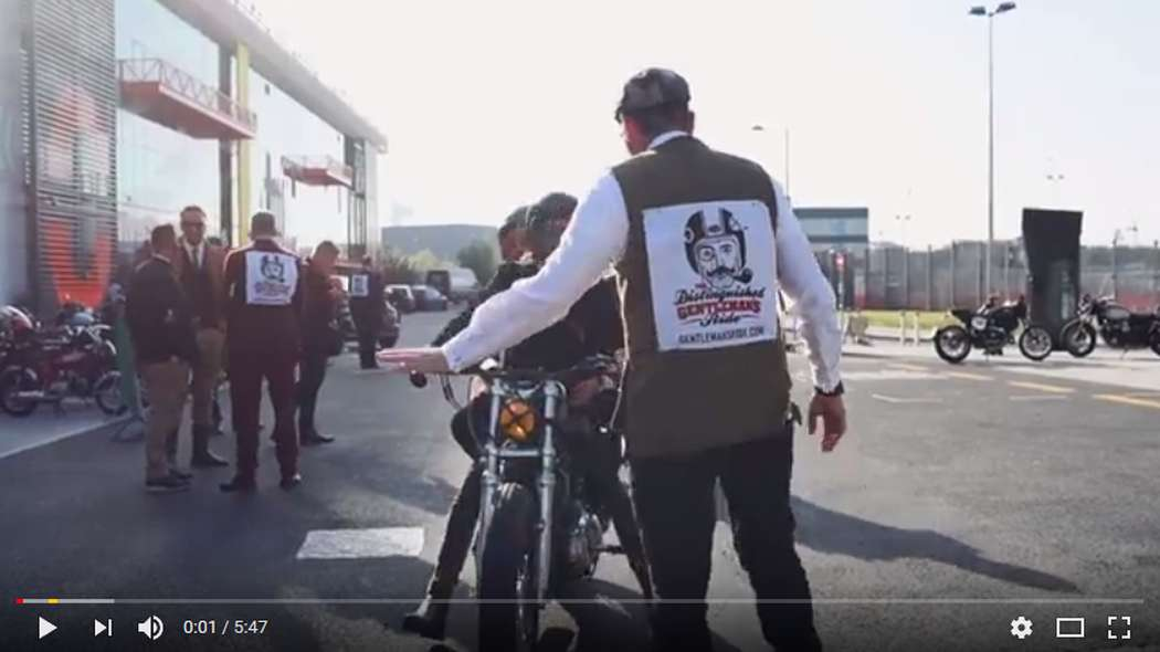 The Distinguished Gentleman's Ride official 2017