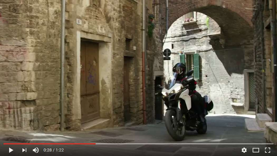 Multistrada 950 - Italian Extraordinary Journeys: Perugia