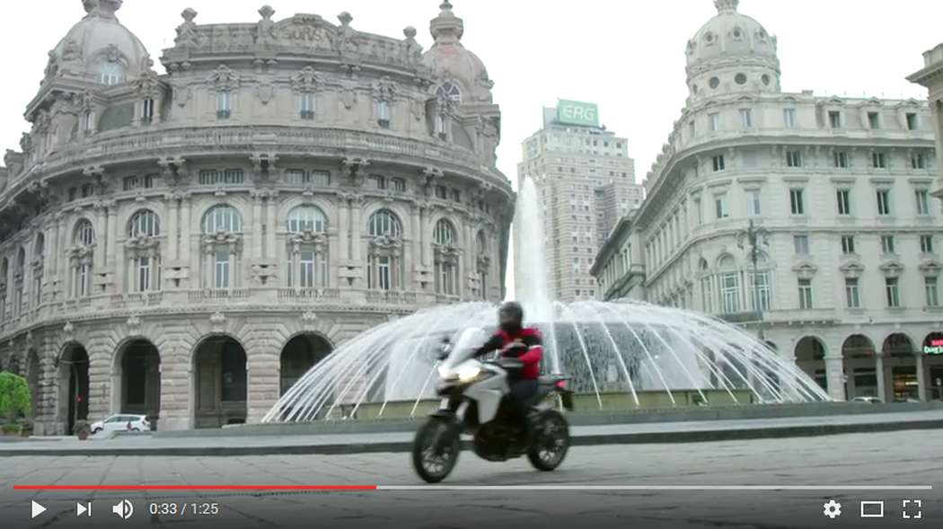Ducati Multistrada 950 - Italian Extraordinary Journeys: Genova