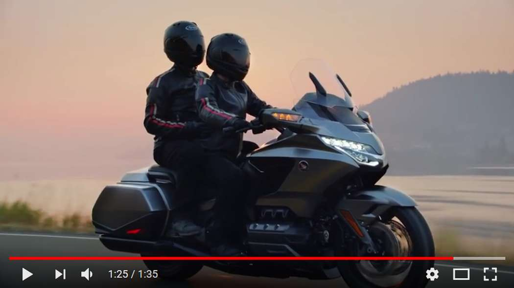 The Entirely New 2018 Honda Gold Wing