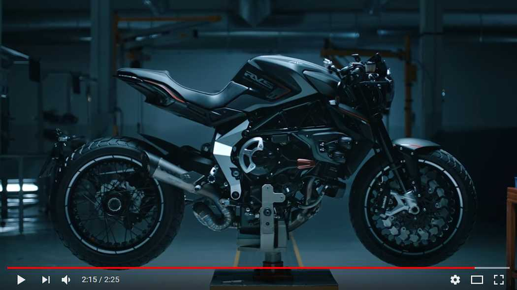 MV Agusta corporate video 2018