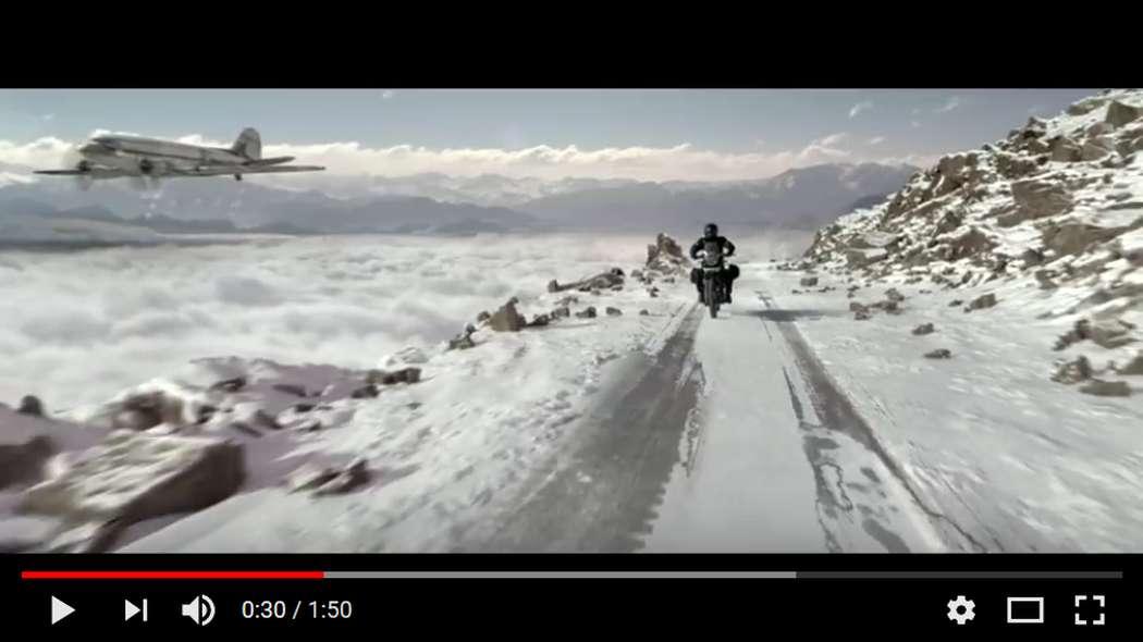Himalayan, la nuova enduro di Royal Enfield