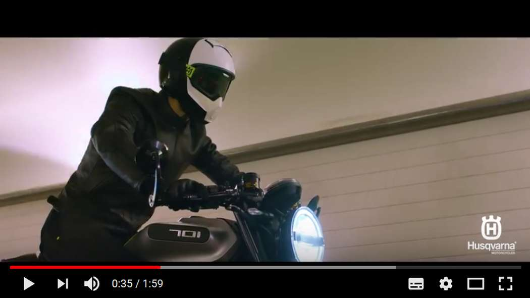 Husqvarna Motorcycles: VITPILEN 701- Simple. Progressive.