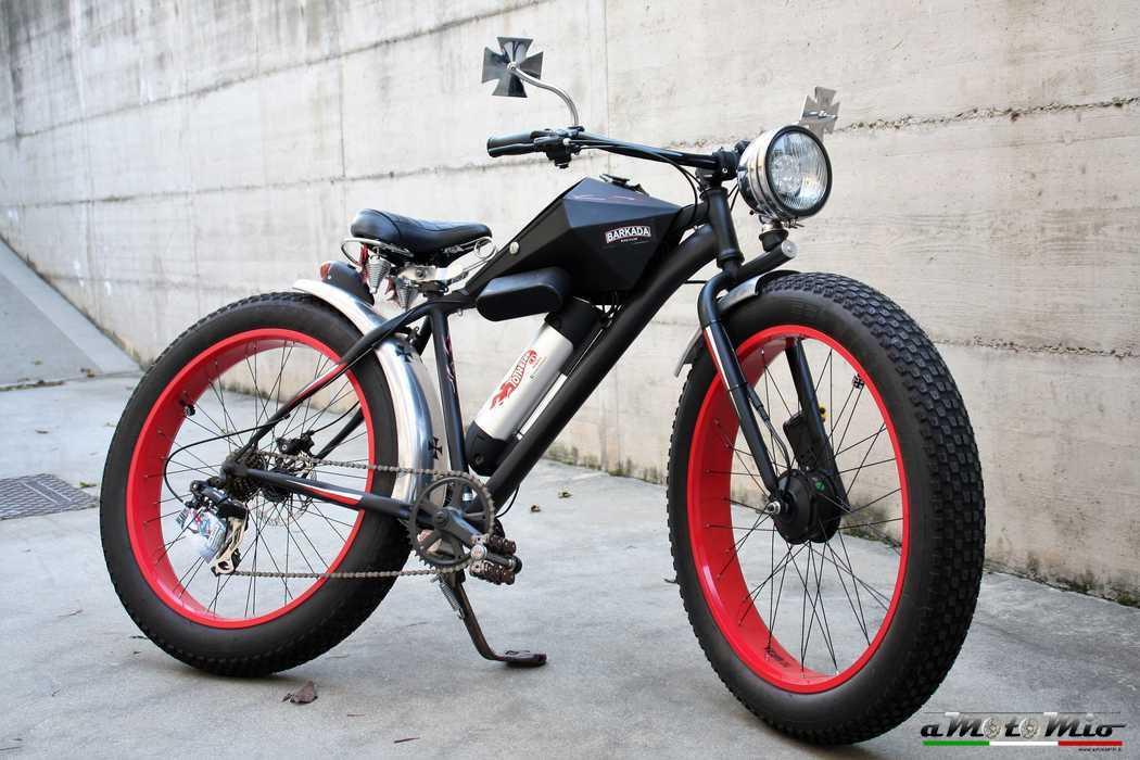 Bicicletta A Pedalata Assistita Fat Custom