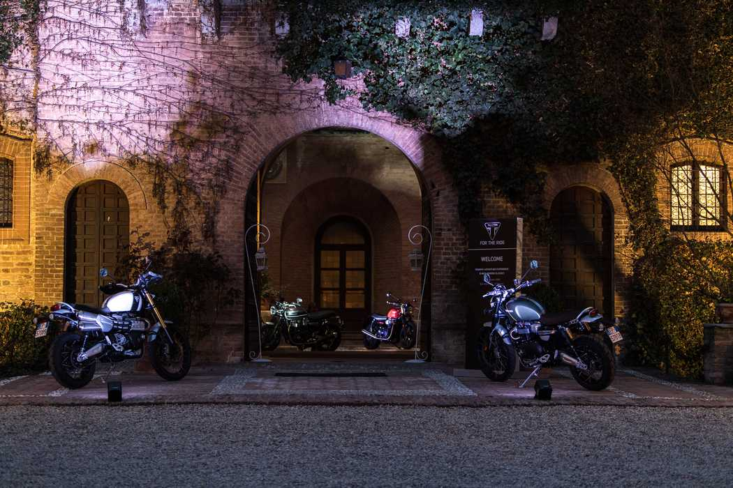 Triumph Press Event