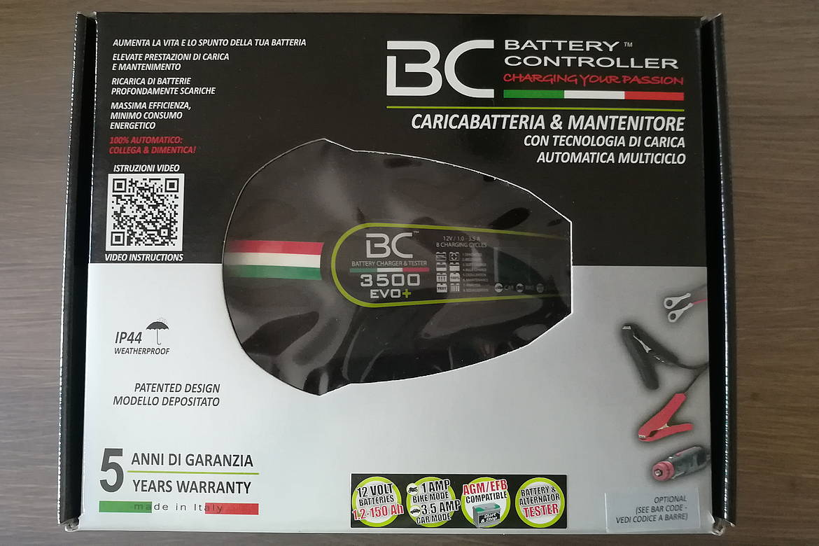 mantenitore BC Battery 3500 EVO
