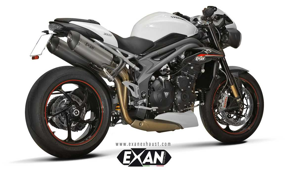 Exan per Triumph Speed Triple