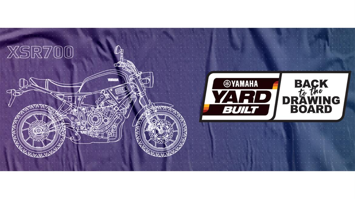 contest BACK TO THE DRAWING BOARD di Yamaha