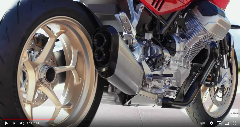 Moto Guzzi V100 Mandello: Preview