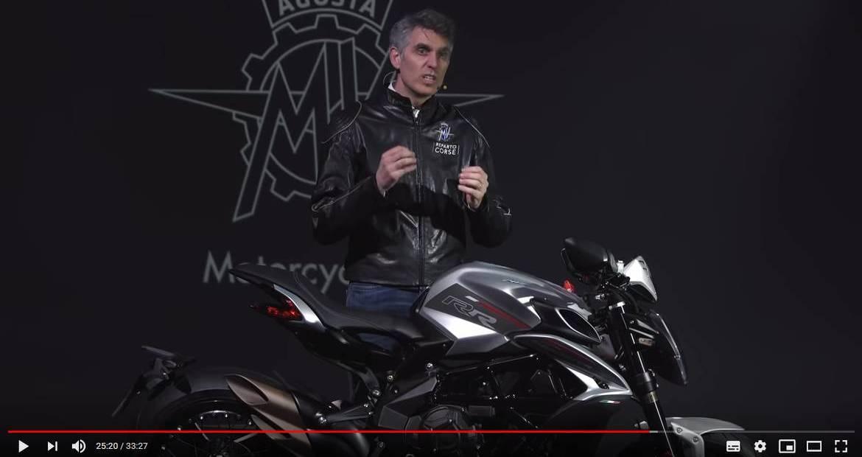 Video MV Agusta: presentazione on line di Brutale e Dragster 2021