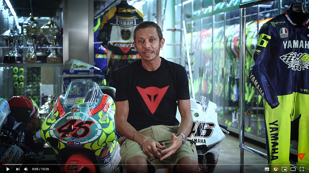 Dainese e Valentino Rossi: EP. 1: THE SECRET ARCHIVE