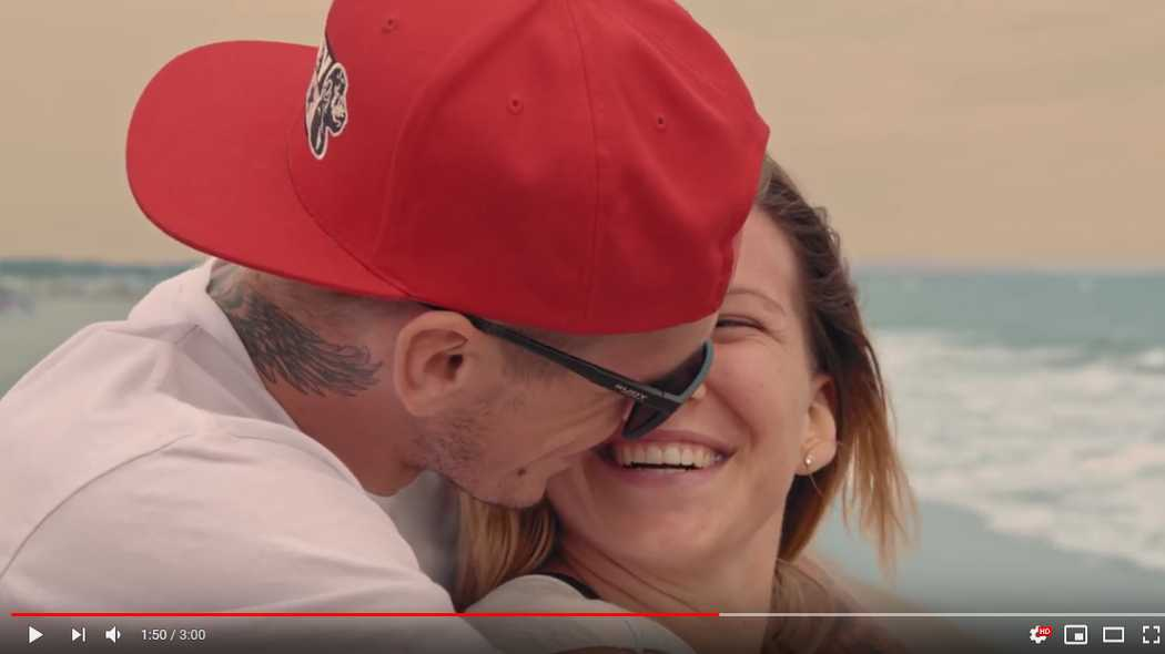 Kiara Fontanesi e Scott Redding in un Videoclip di SFigher