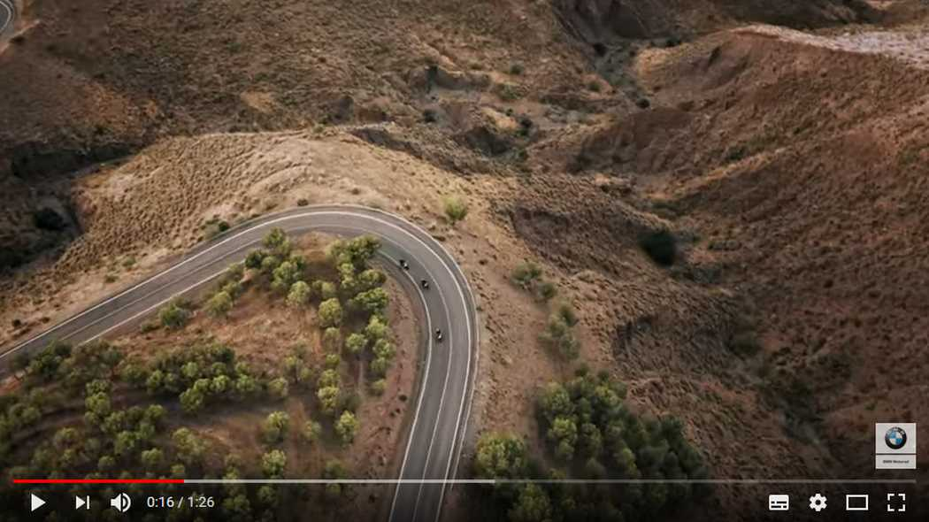 BMW F 750 GS: Chasing excitement - Video