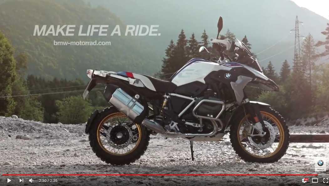 Il nuovo motore Boxer 1250cc con il BMW ShiftCam