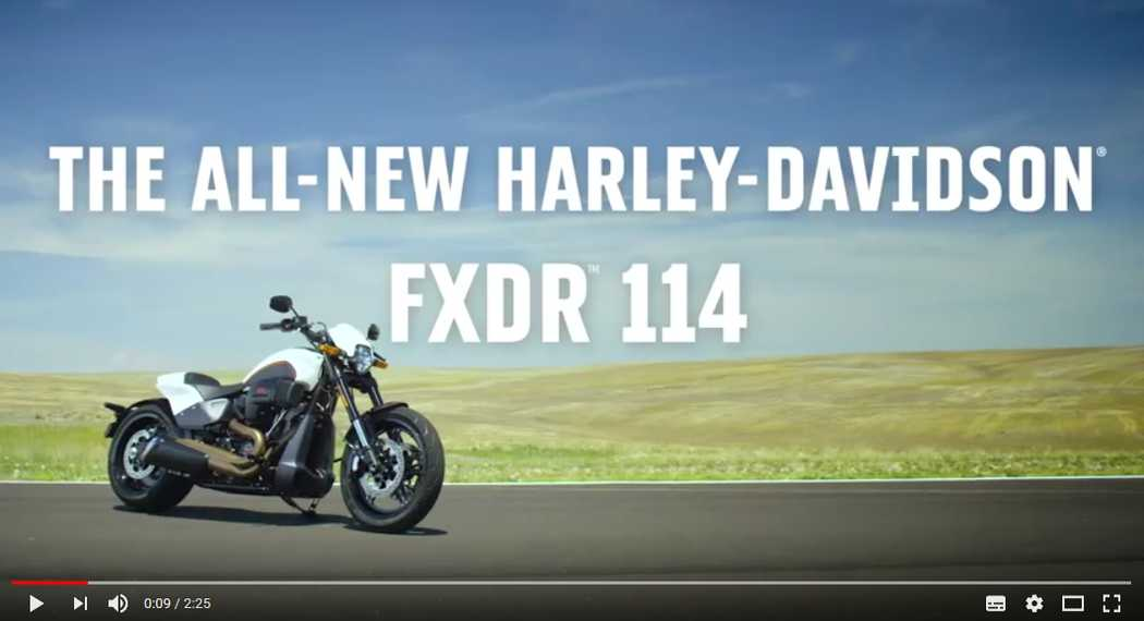 Harley-Davidson FXDR 114 Closer Look