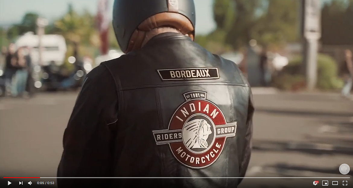 Rider's Anthem – Indian Motorcycle