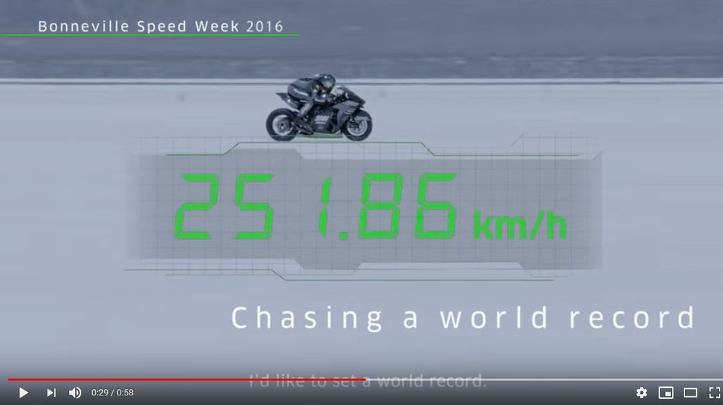 Kawasaki Beyond Speed: Team 38 Bonneville Challenge