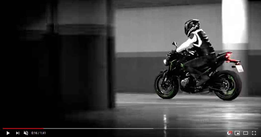 VIDEO Kawasaki Z900 - REFINED RAW