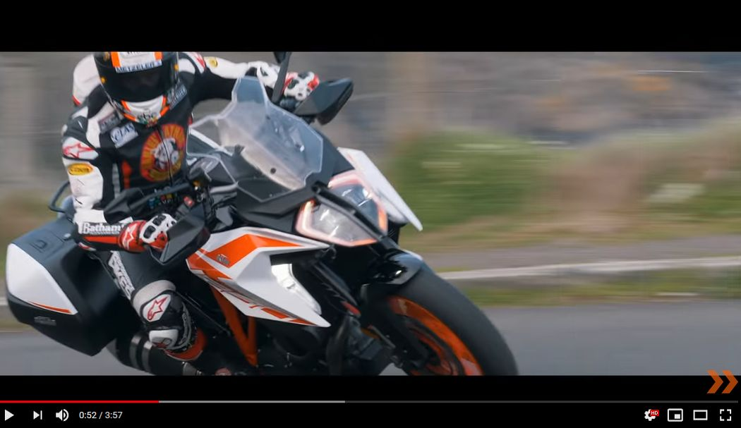 THE ISLE OF MAN KTM 1290 SUPER DUKE GT