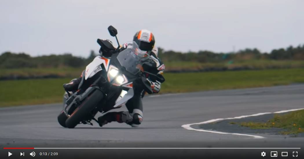 Michael Rutter talks Isle of Man and the KTM 1290 SUPER DUKE GT