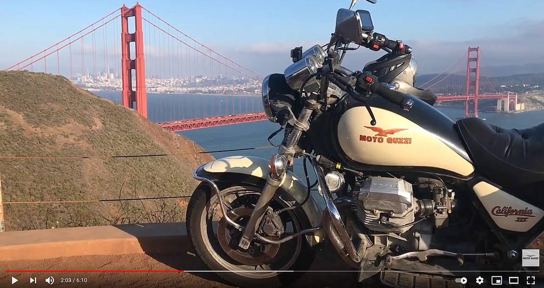 The Longest Road: NYC - Alaska - Tierra del Fuego on Moto Guzzi California