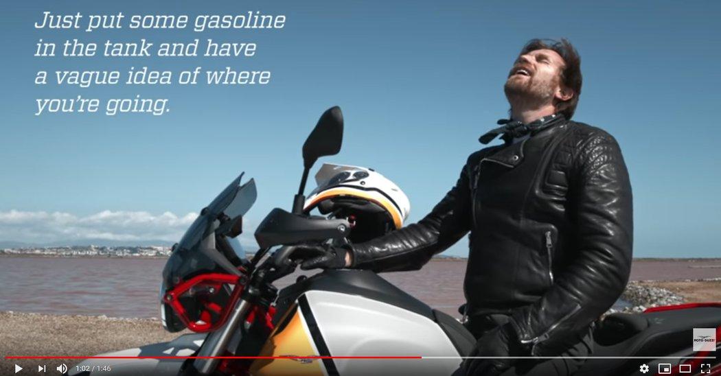 Moto Guzzi V85 TT e Ewan McGregor