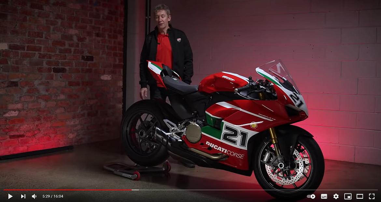 Video presentazione: Ducati Panigale special Troy Bayliss
