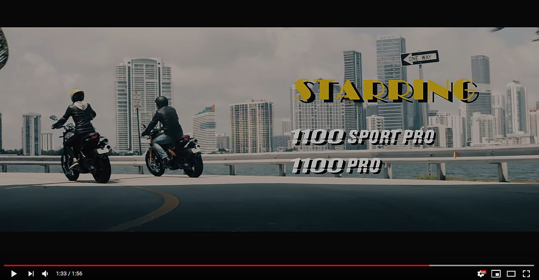 Scrambler 1100 Pro & 1100 Sport Pro - #JUSTPROs