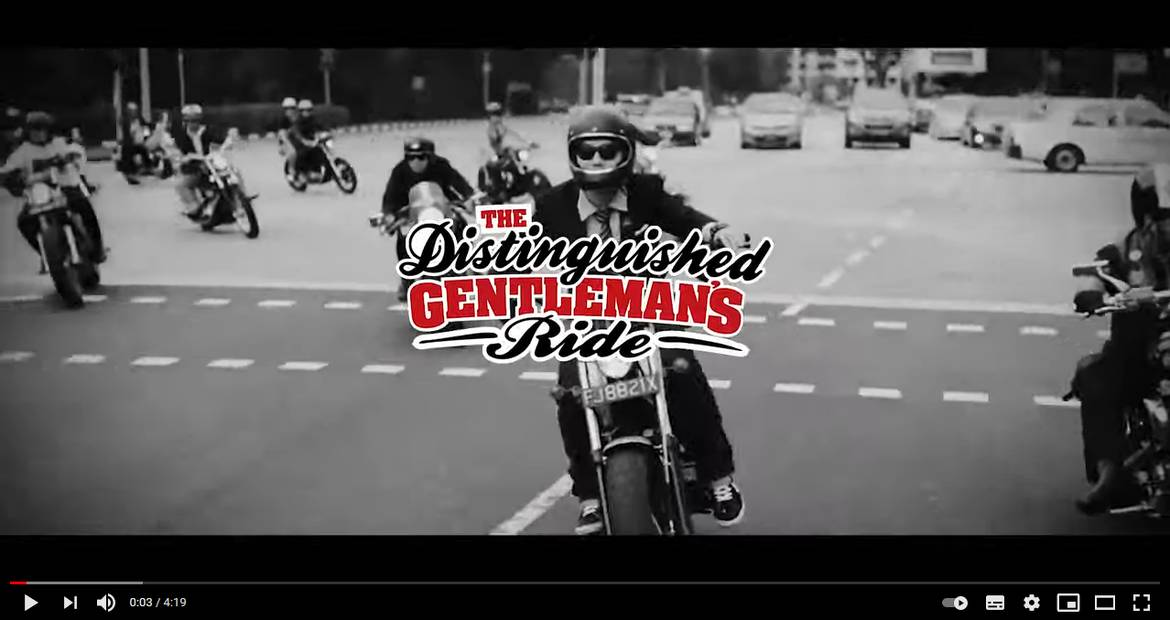 A Decade of Dapper - 2021 The Distinguished Gentleman's Ride