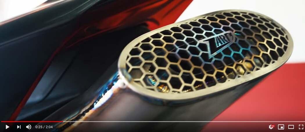 Scarico Zard per Ducati Panigale V4
